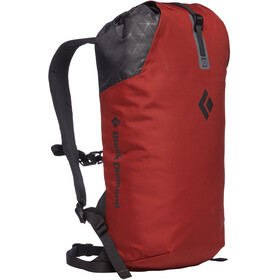 Black Diamond Rock Blitz 15 Kletterrucksack red oxide